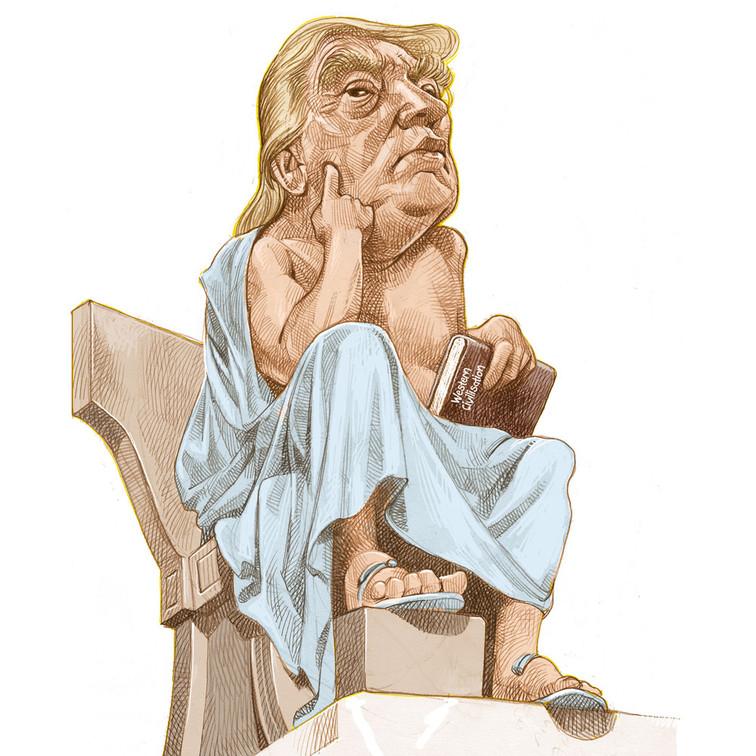 Trump the Socrates