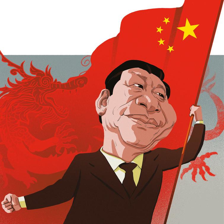 China leading