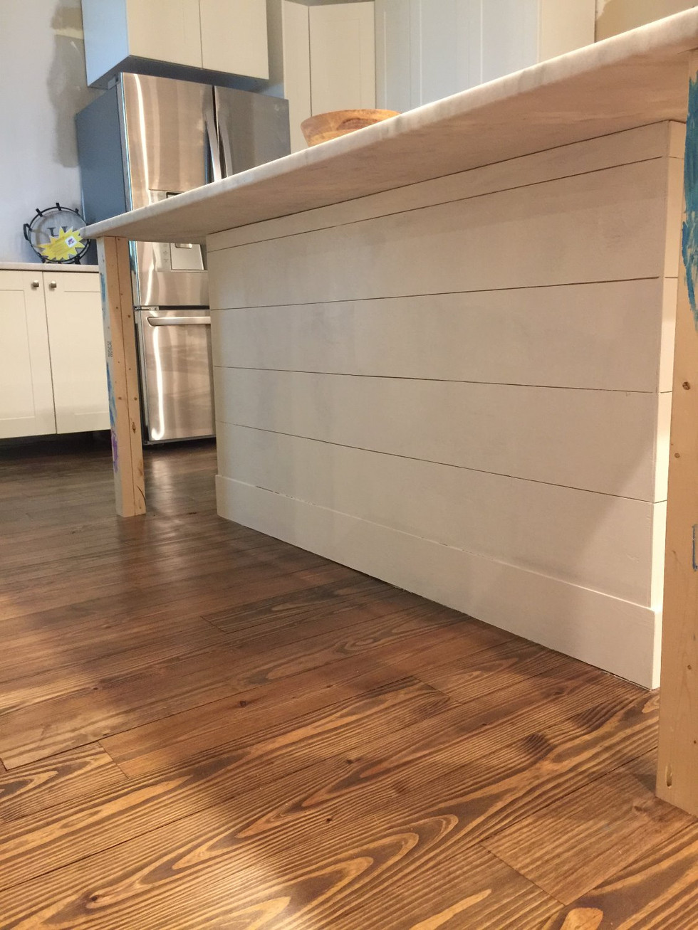 Installing an Ikea Kitchen Island, Part 2 of 3: The Wrap