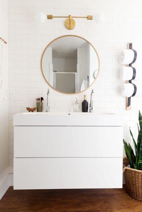 Inspire: IKEA half bath