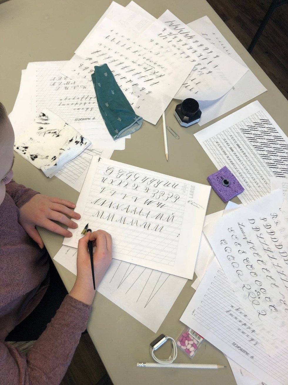 Modern Calligraphy Classes In Nashville, Tennessee