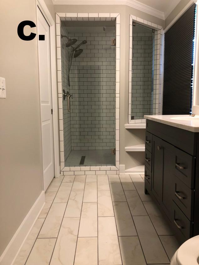 New Master Bath