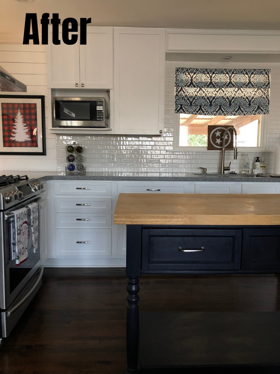 Buy And Renovate: Kitchen Cabinet Reface Before & After