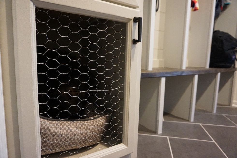 How We Built Our Integrated Dog Cabinet