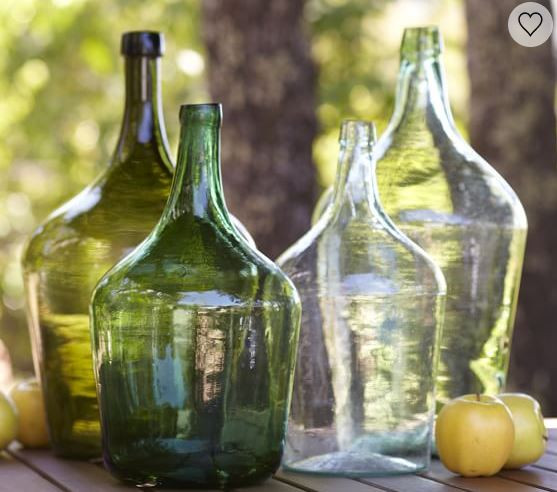 Pottery Barn Oversized Wine Jugs