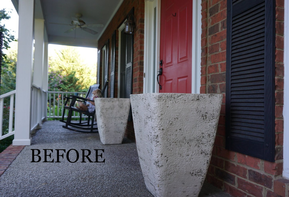 The Front Porch: Before and After