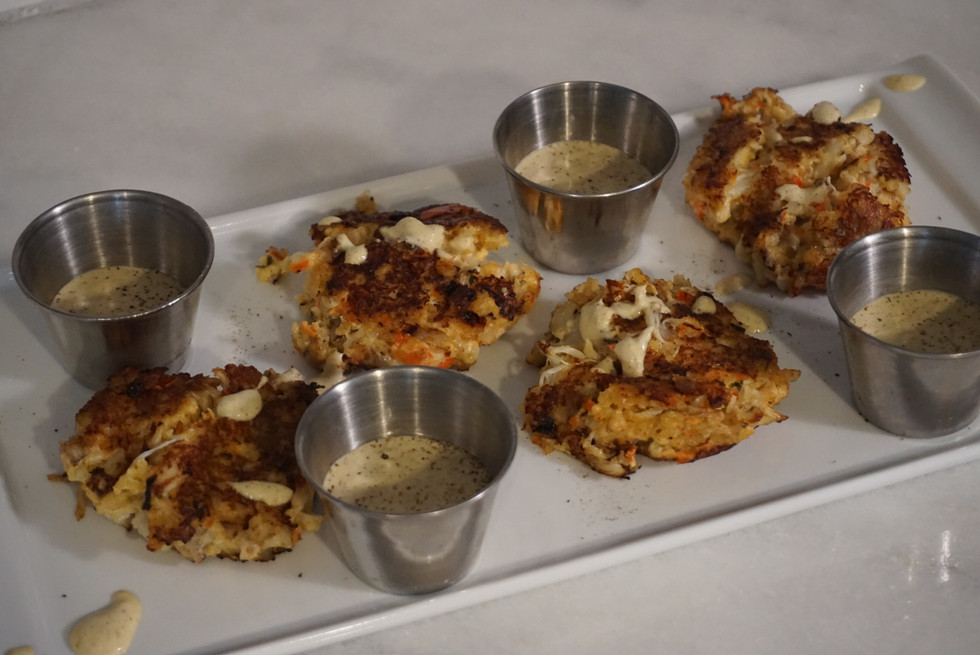 Coast to Table: Crab Cakes with a Horseradish Mayo Sauce