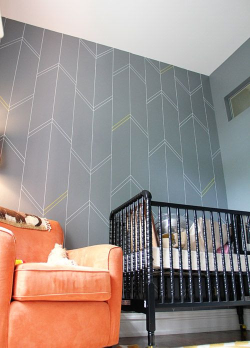 Inspiration: Stenciled Walls