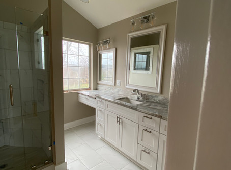 Who Needs A Bathtub? Master Bathroom Before and After