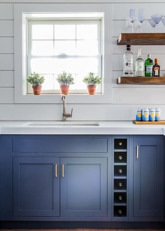 Inpsire Kitchen Shiplap And Floating Shelving Client Project