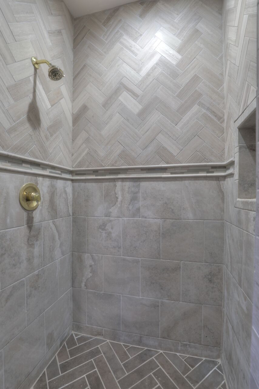Fall Back Friday Means Renovation Rewind: Master Bath, Property 2