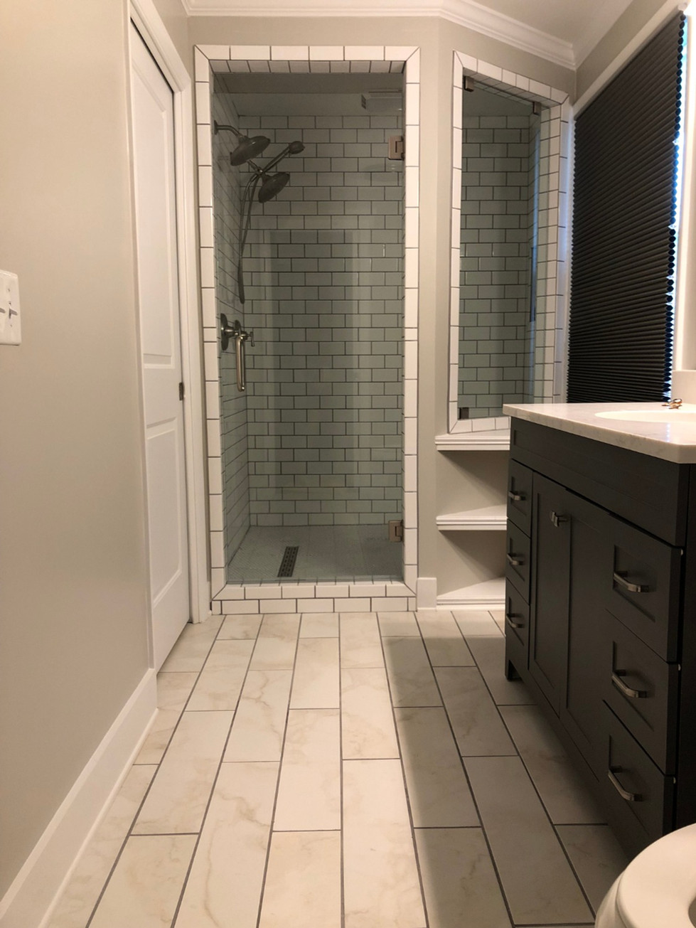 Buy and Renovate: Master Bath Before and After