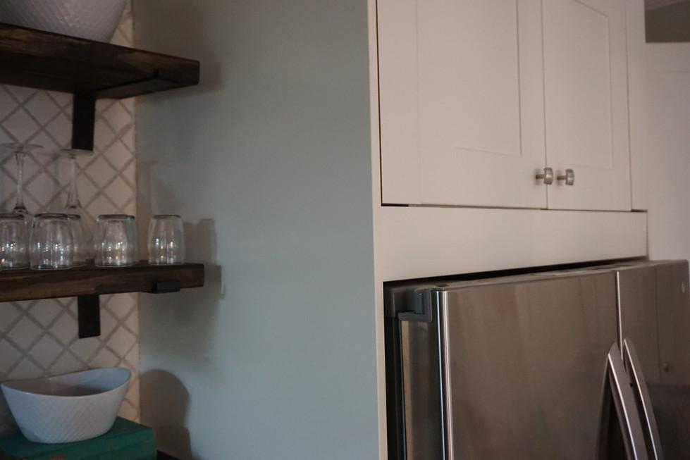 Ikea Kitchen Trim Obstacles: Creating A Box Around the Fridge