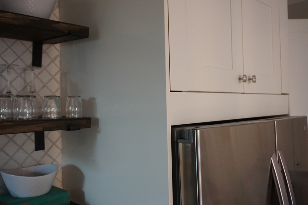 Ikea Kitchen Trim Obstacles: Creating A Box Around the Fridge