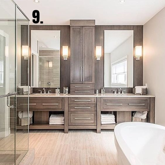 Twelve On Tuesday: Wood Plank Tile In The Bathroom