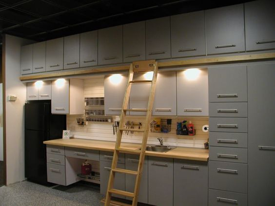 Dream: Ikea Kitchen in the Garage, Why Not?