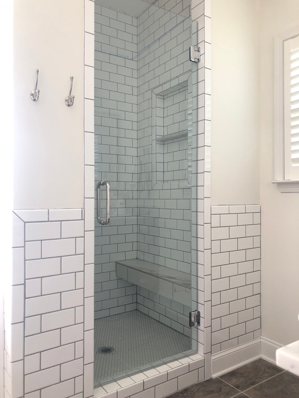 Before & After Master Bathroom: Ladd Park