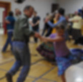 Contra dance-fun for all ages