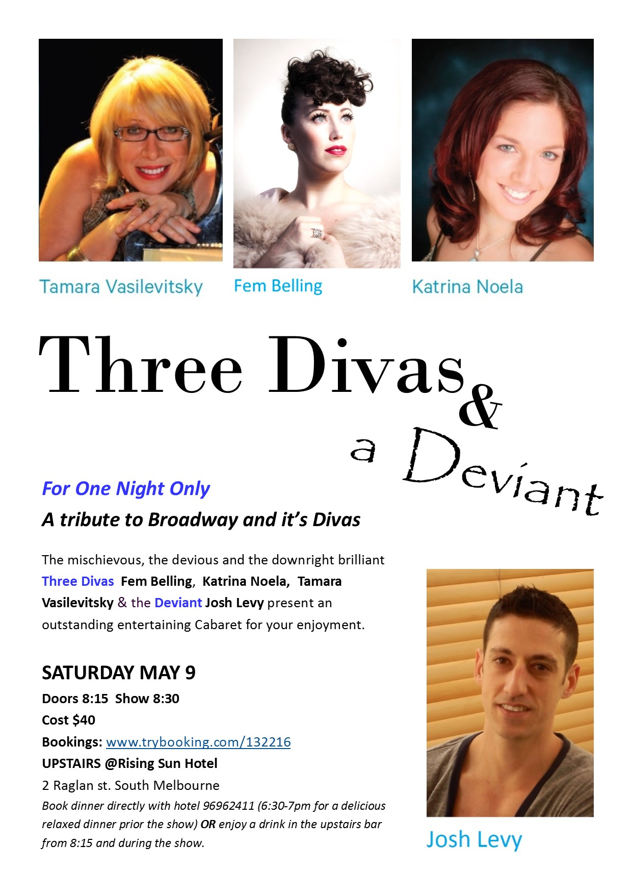 Three Divas and a Deviant