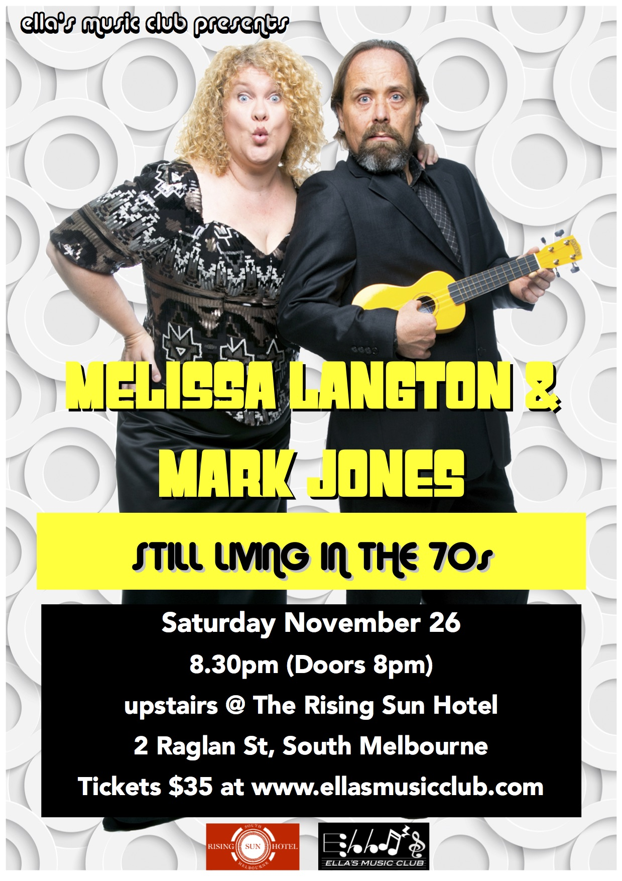 Melissa Langton & Mark Jones