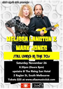 Melissa Langton & Mark Jones