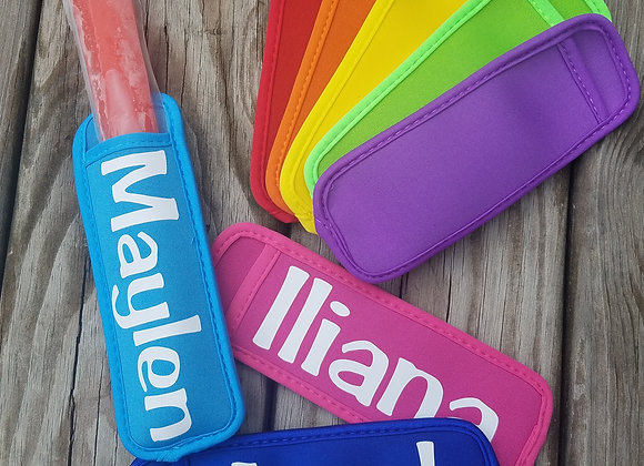 Personalized Freeze Pop Holder