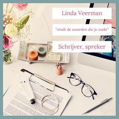 Linda Veerman vindt de woorden die je zoekt
