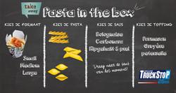 Pasta in the box