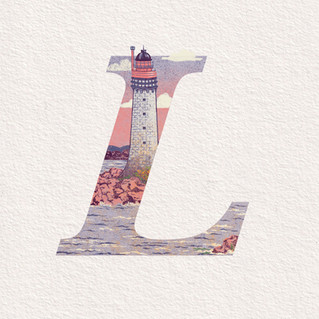 L is for Land & Lighthouse