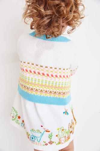 Garden Embroidered dress