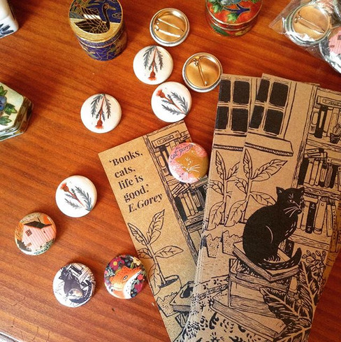 Bookmarks & buttons