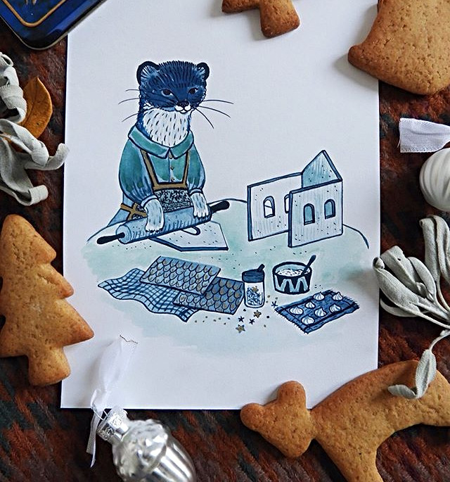 Weasel's Gingerbread House