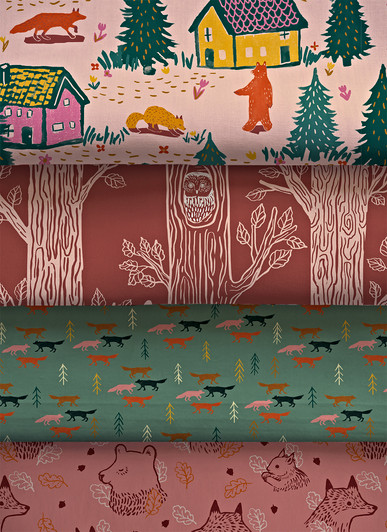 Woodland Town Collection