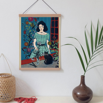 L'Affiche Moderne | Window Bouquet