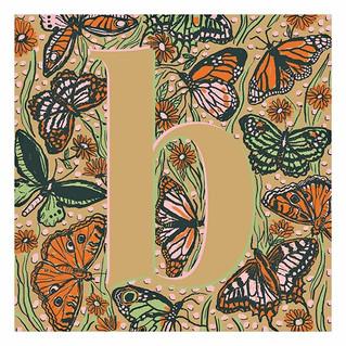B like butterfly