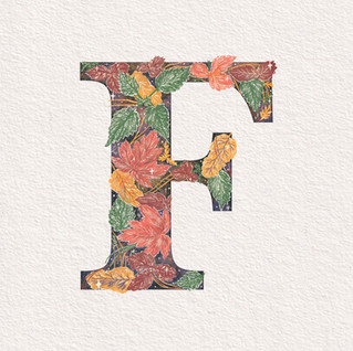 F is for Frosted Foliage