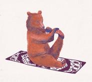 Bear Leg Stretch