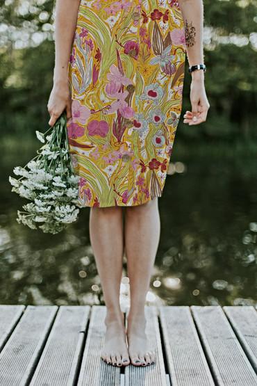 Orchid Queendom skirt