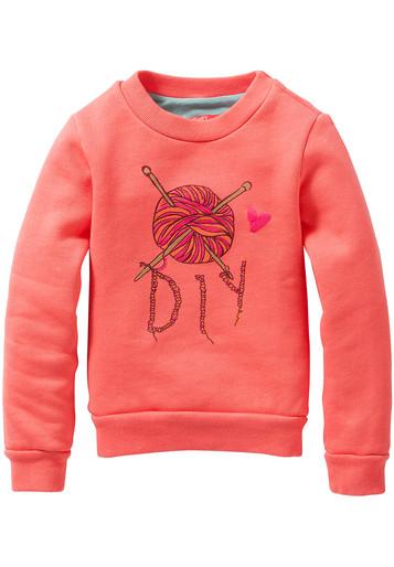 """DIY love"" sweatshirt"