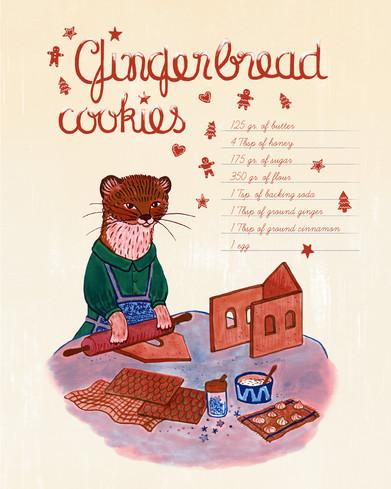 Gingerbread Weasel