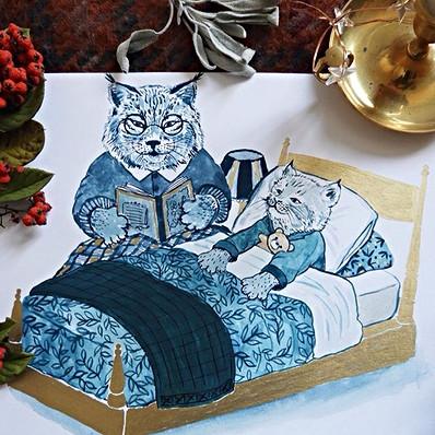 Grand Ma lynx's Bedtime Stories