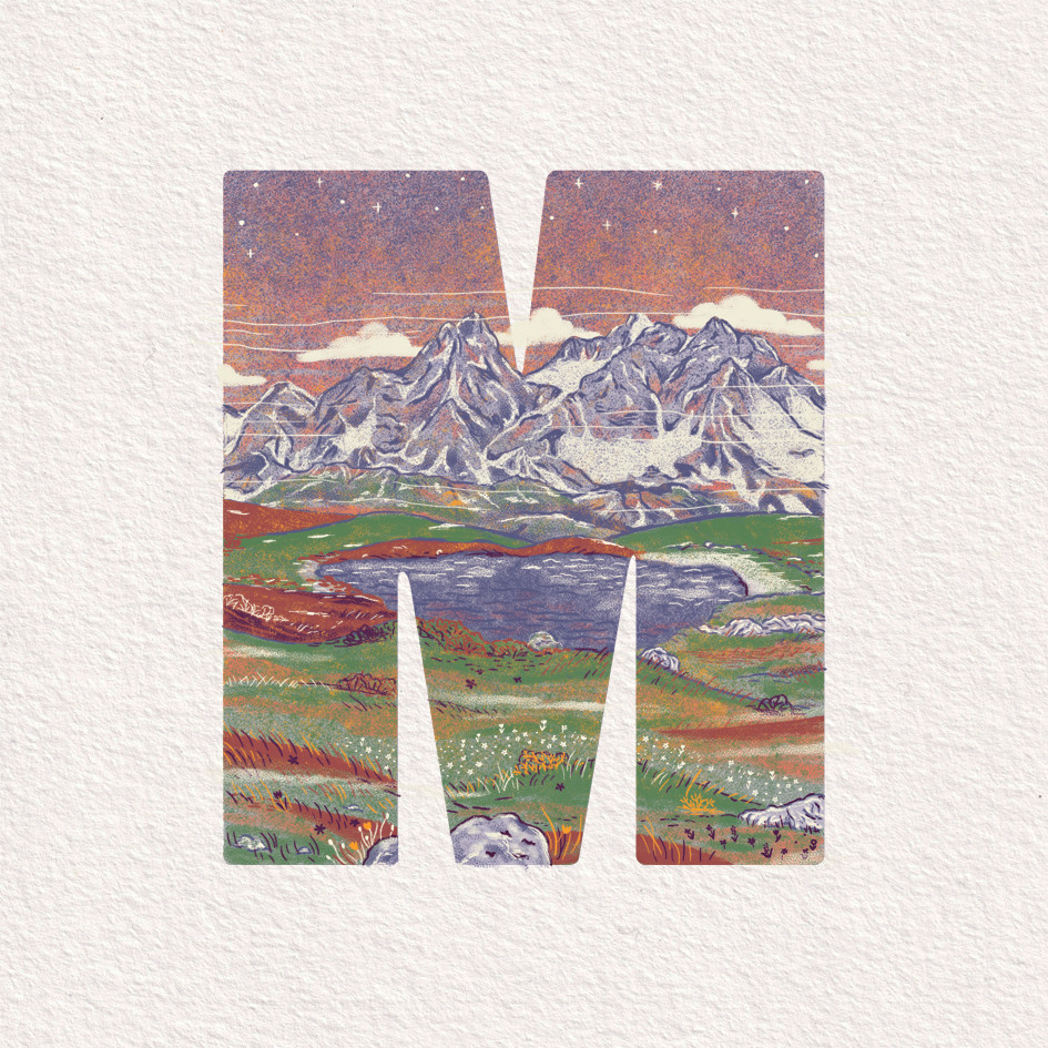 M is for Mountains