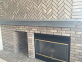 Fireplace Mantle glaze