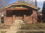Exterior house painted 3 color