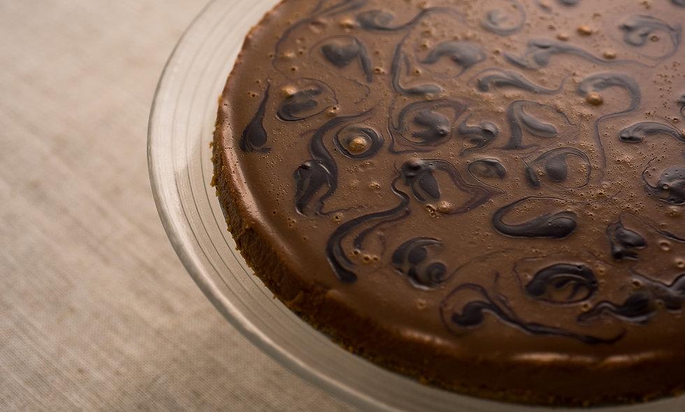 Cheesecake de Chocolate Preto