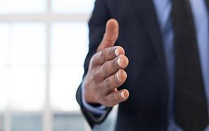 Lawyer's handshake