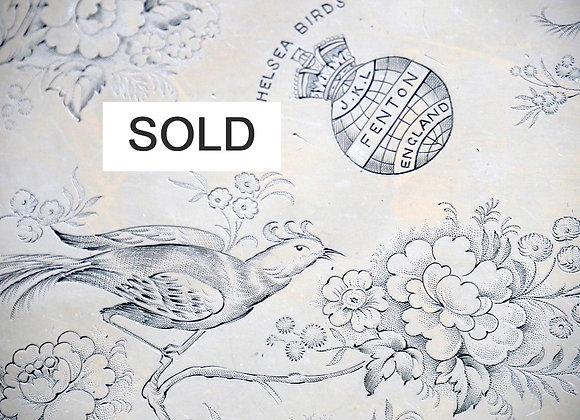 **SOLD** 超レア品 チェルシーバード 銅板印刷 原版 本体価格9900円