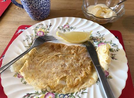 英国の朝ごはん パンケーキのレシピ いかがですか