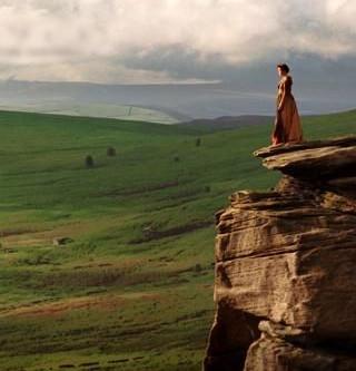 キーラナイトリーごっこの出来る丘へご案内&そこからチャッツワースへ
