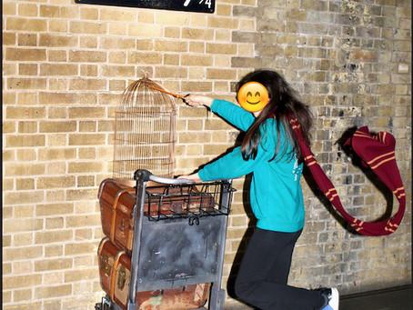 ロンドン キングスクロス駅でハリーポッターごっこをしてきました!